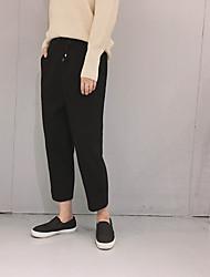automne et faire une sieste d'hiver trop mince pantalon cordon élastique à la taille fichier d'échange coréen ba jiufen pantalon