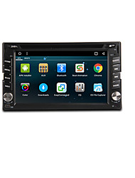 Android 6.0 6,2-Zoll-Auto-DVD-Player mit Quad-Core-Contex a9 1.6Ghz, Radio ,, Wifi, 4g, GPS, rds