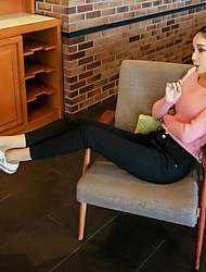 Sign spring new Korean version of the nine-hole stretch pants feet Slim was thin pencil pants Ms.