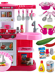 Pretend Play Toy Kitchen Sets Toy Foods Circular PVC Boys' Girls'