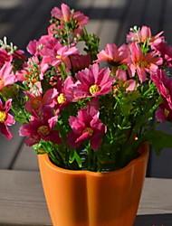 1 Филиал Волокно Ромашки Букеты на стол Искусственные Цветы 13*13*18