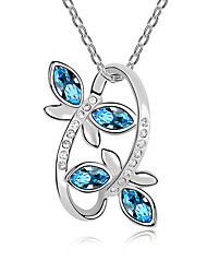 Жен. Ожерелья с подвесками Кристалл В форме животных Животный дизайн Бижутерия Назначение