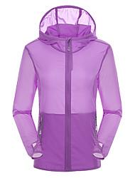 Mulheres Jaqueta Blusas Acampar e Caminhar Pesca Alpinismo De ExcursionismoRespirável Secagem Rápida A Prova de Vento Resistente Raios
