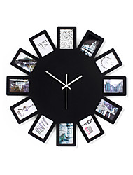Creative Fashion Wood Mute Wall Clocks