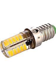 1Pcs YWXLight® E14 3W 40LED 5730SMD 200-300LM Warm White Cool White LED Silica Gel Lamp AC 110V/AC 220V