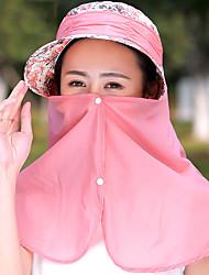 Mujer Verano Casual Algodón Sombrero para el sol,Un Color