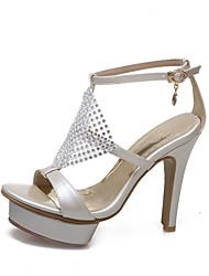 Women's Sandals Summer Slingback Club Shoes Gladiator Comfort Novelty Light Soles Customized MaterialsWedding Office & Career Party &