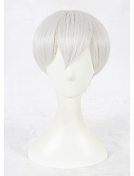 Short silver grey nierautomata cosplay 9s synthétique 12inch anime cosplay perruque cs-327a