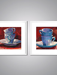 Framed Canvas Prints Abstract Cups Painting  Picture Print on Canvas Contemporary Wall Art for Room Decoration
