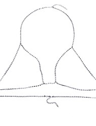 Women's Body Jewelry Body Chain Natural Fashion Gem Alloy Geometric Jewelry For Special Occasion Halloween Anniversary 1pc