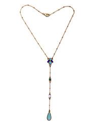 Colliers pendentifs pour femmes bijoux irréguliers chrome euramerican pour cadeau valentine 1pc