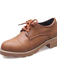Damen Outdoor Komfort Leuchtende Sohlen Bullock Schuhe Mikrofaser Frühling Sommer Herbst Winter Normal KleidKomfort Leuchtende Sohlen