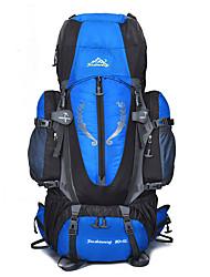 55 L Rucksack Klettern Freizeit Sport Camping & Wandern Regendicht Staubdicht Atmungsaktiv Multifunktions