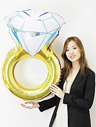 Ballons Déco de Célébrations 1 La Saint Valentin Mascarade Anniversaire Aluminium