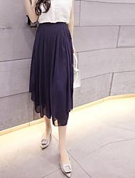 # Знак брюки женщина летом новый шифон широкую ногу трусы свободные брюки отказ