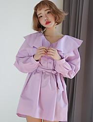 ponto 2.017 cintos de moda& babados mini-vestido decorado feminino