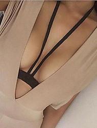 Femme Bijoux de Corps Chaîne de Corps Mode Alliage Forme Géométrique Noir Bijoux Pour Décontracté 1pc