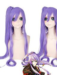 Vocaloid Kamui Gakupo Gackpoid косплея длинных волос парика партия 2 зажима хвостики термостойкие