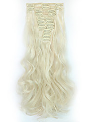 Clip In Synthetic Hair Extensions 150 Hair Extension