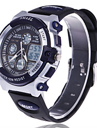 Masculino Relógio Esportivo Relógio Elegante Relógio de Moda Relogio digital Relógio de Pulso Mostrador Grande Digital Silicone Banda
