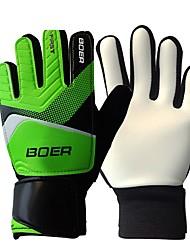 Goalkeeper Gloves Full-finger Gloves Kid's Anti-skidding Wearable Lightweight Soccer Rubber