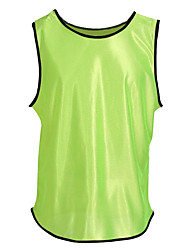 Unisex Soccer Tops Breathable Comfortable Summer Solid Terylene Football/Soccer Yellow Green Blue Orange