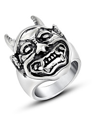 Personality but the king bull rings Vintage Antique Silver finger RING Fashion Noble Luxury Elegant Charm unisex jewelry Ring