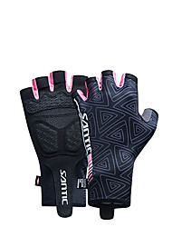 Santic Women's Short Term Chronograph Riding Gloves (Ashima)