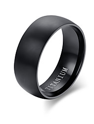 100% Titanium Rings For Men 8mm Cool Black Men' Ring Jewelry Wedding Engagement Male Gift Aliexpress sales TR-001