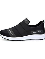 Men's Sneakers Spring Summer Fall Winter Comfort Tulle Fabric Casual Athletic Walking Flat Heel Black Blue