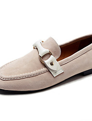 Women's Loafers & Slip-Ons Spring Fall Light Soles Cashmere Outdoor Casual Magic Tape