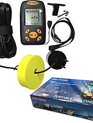 100M LED Wired Ultrasonic Visual Detect Depth Sonar Sensor Fish Finder Set
