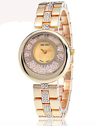 Women's Fashion Watch Chinese Quartz Alloy Band Gold Rose Gold