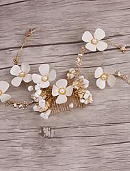 Women's Alloy / Imitation Pearl Headpiece-Wedding / Special Occasion / Casual Headbands / Wreaths 1 Piece