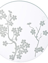 1pcs  Cherry Blossoms Glass Coasters Beter Gifts® Party Decor
