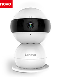Lenovo Snowman 1080P 2.0 MP Mini Indoor with Day Night PTZ Baby Monitor