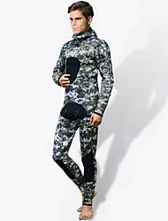 HISEA® Pánské Neopren kalhoty Zahřívací Proti záření Diving Suit Cyklistické kalhoty Potápěčské obleky-Rybaření Potápění Jaro Léto Zima