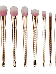 7 Contour Brush Makeup Brush Set Blush Brush Eyeshadow Brush Brow Brush Concealer Brush Fan Brush Powder Brush Foundation BrushSynthetic