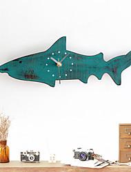 Modern/Contemporary Casual Animals Nautical Wall Clock,Novelty Metal Wood 40 Indoor/Outdoor Indoor Clock
