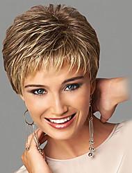 Perruques synthétiques de couleur blonde à la mode
