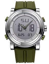 SINOBI Мужской Спортивные часы электронные часы Защита от влаги Хронометр Фосфоресцирующий Ударопрочный Кварцевый Цифровой силиконовый