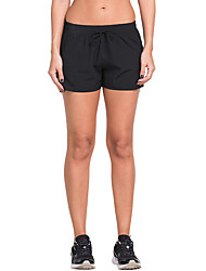 Vansydical® Women's Running Shorts Quick Dry Spring Summer Exercise & Fitness Terylene Slim Outdoor clothing Athleisure Fashion