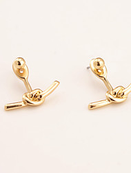 Non Stone Others Dangle Earrings Jewelry Unique Design Euramerican Fashion Personalized Daily Casual Alloy 1pc