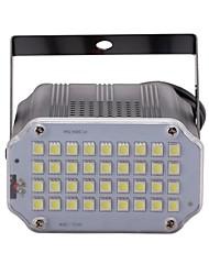 U'king mini contrôle sonore 36pcs blanc leds chambre stroboscope projecteur éclairage de scène pour discothèque dj light home