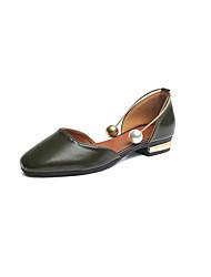 Women's Sandals Spring Comfort PU Outdoor Flat Heel