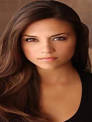 100% cheveux humains 130% de la densité de la dentelle devant perruques droite naturelle des cheveux humains vierges pour les femmes