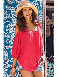Ebay aliexpress внешняя торговля в европе и америке 2016 новые летние свободные короткими рукавами футболки рубашки утечки плечо мс.