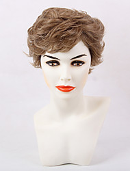 Fluffy Fashionable Short Curly Hair Synthetic Wig Suitable For All Kinds Of People