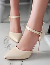 Women's Sandals Summer Slingback PU Casual Low Heel