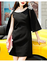 2016 new winter entertainment is not up to the beauty front heavy loose cloak sexy package hip waist dress women